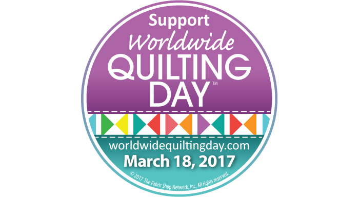 Worldwide Quilting Day Fabric Shoppers Unite