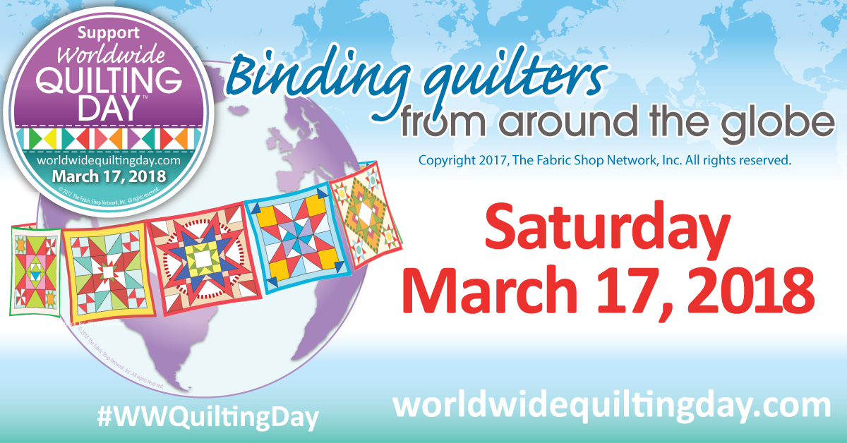 Worldwide Quilting Days